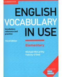 English Vocabulary In Use Elementary +Key 3Rd Ed.