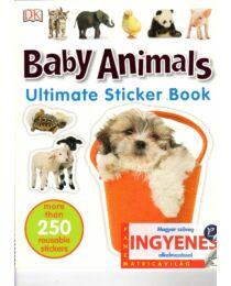 Baby animals matricavilág - angol nyelvű matricás foglalkoztató
