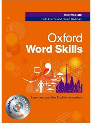 Oxford Word Skills - Intermediate (könyv+CD Rom)