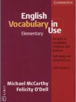 English Vocabulary In Use Elementary with answers+CD