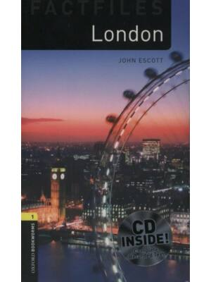 John Escott: London (Level 1) - CD Pack