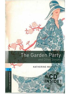 The Garden Party and Other Stories - Level 5 (erős haladó szint) - cd pack