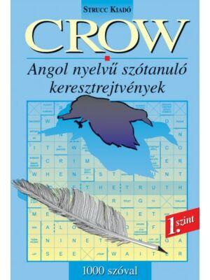 Crow 1 -  angol nyelvű szótanuló keresztrejtvény 1000 szóval