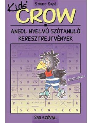 Crow Kids 1 -  angol nyelvű szótanuló keresztrejtvény 250 szóval