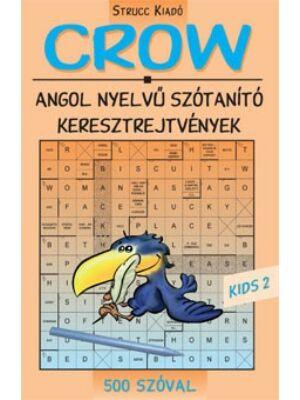 Crow Kids 2 -  angol nyelvű szótanuló keresztrejtvény 500 szóval