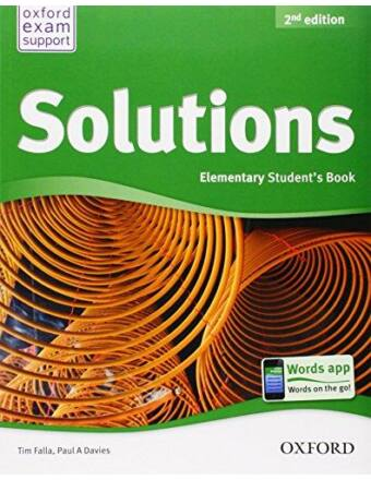 Solutions 2Nd Ed, Elementary SB