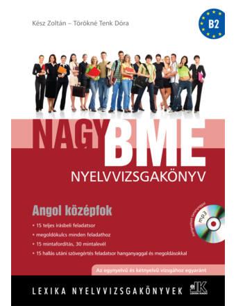 Nagy Bme Nyelvvizsgakönyv Angol Középfok, Írásbeli +Mp3 *Új