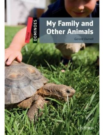 Gerald Durell: My Family and other animals - dominoLevel 3 (erős alapfok) - CD Pack