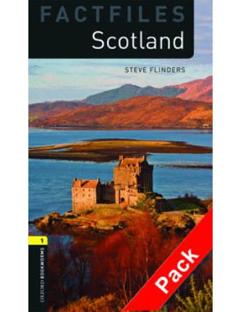 Scotland (Factfiles) - Level 1 (kezdő szint/400 szó) - CD Pack