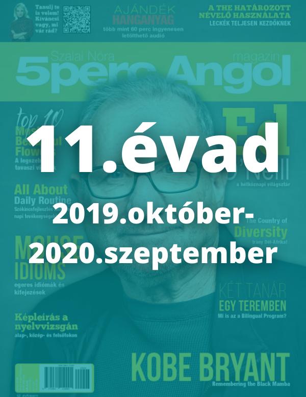 11. évad (2019. október - 2020. szeptember)