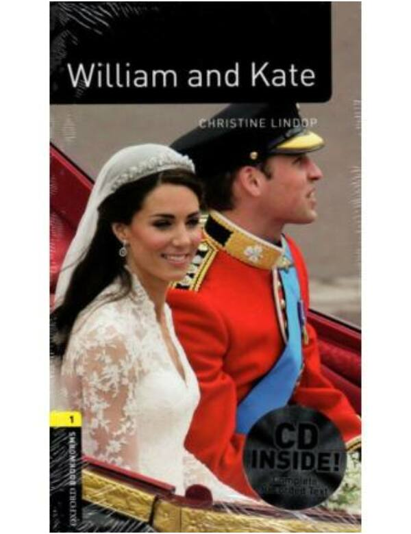William And Kate (Level 1 - 700 szó) CD Pack